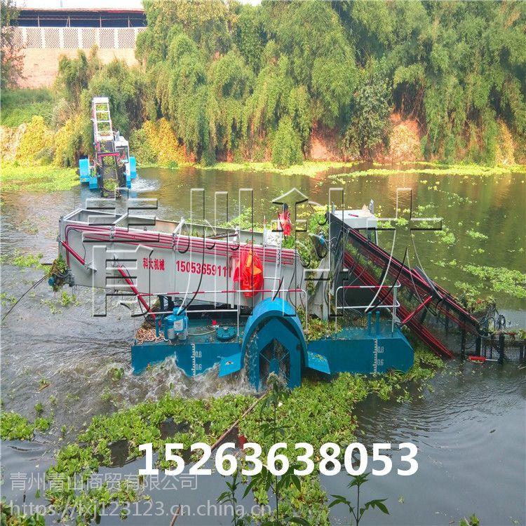 江苏湖泊保洁船、水上杂草打捞机械、水上割草船