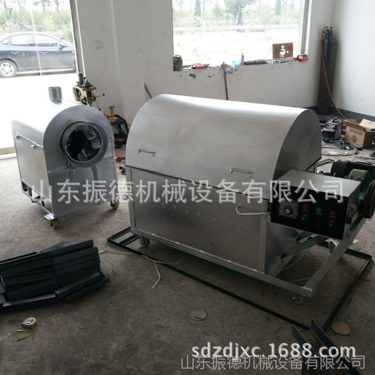 全自动花生炒货机 振德牌 不锈钢电加热炒货机 大型干果炒货机