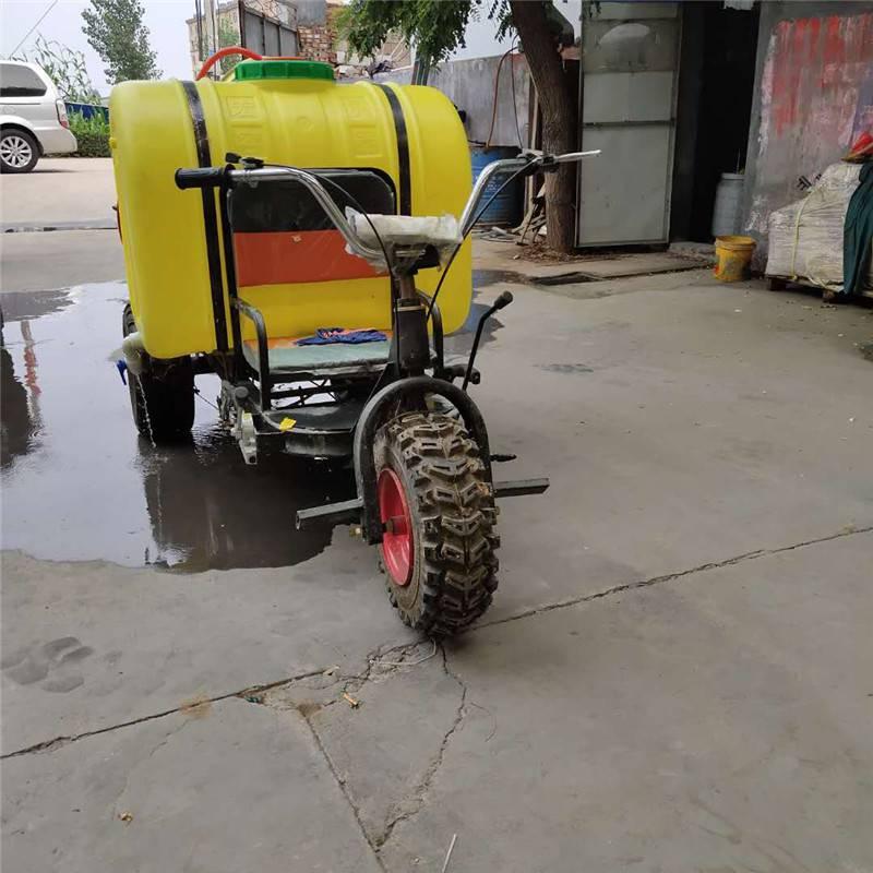 高射程高压喷雾机 启航稻田汽油打药机 苞米地自走式喷药机