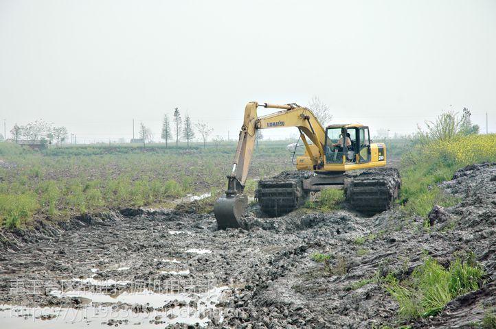 邵阳斗山215-9水上挖掘机租赁