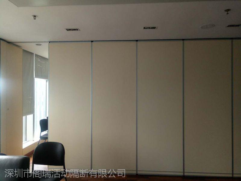 深圳活动隔断厂家定制供应 赛勒尔办公室折叠活动隔断