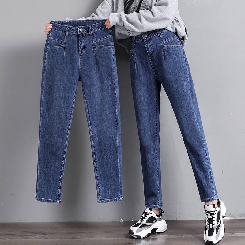 便宜牛仔裤时尚弹力小脚裤地摊货批发便宜女士铅笔裤批发杂款尾货清仓