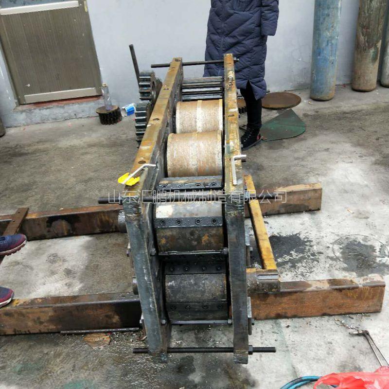 山东废旧架子管截断机 汇鹏生产周期短 可以来实地考察