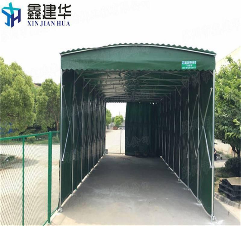 海宁市供应优质推拉蓬遮阳雨棚 布 移动活动雨篷加工定制