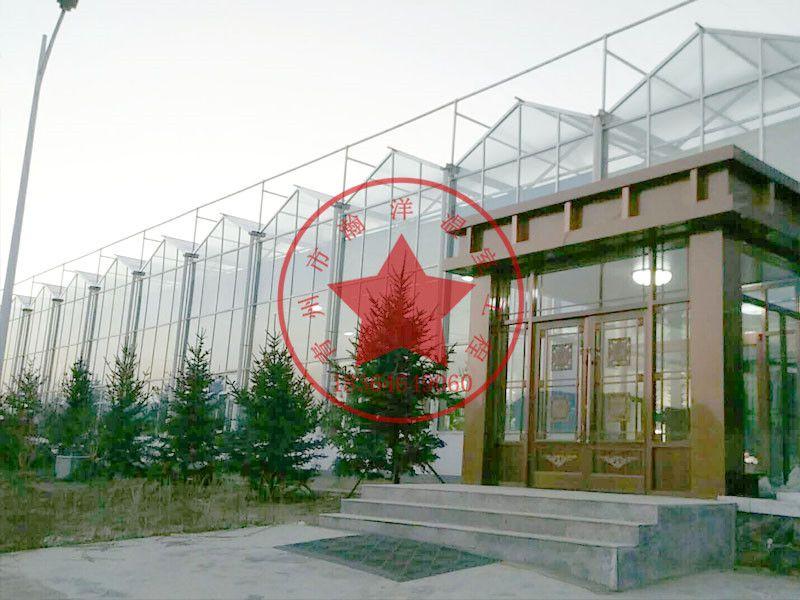 青州瀚洋钢结构连栋玻璃智能大棚造价多少钱一亩?