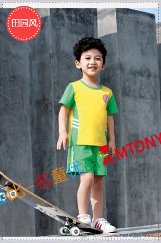 夏季安全幼儿园园服夏季园服厂家直供 长期现货供应 价格实惠