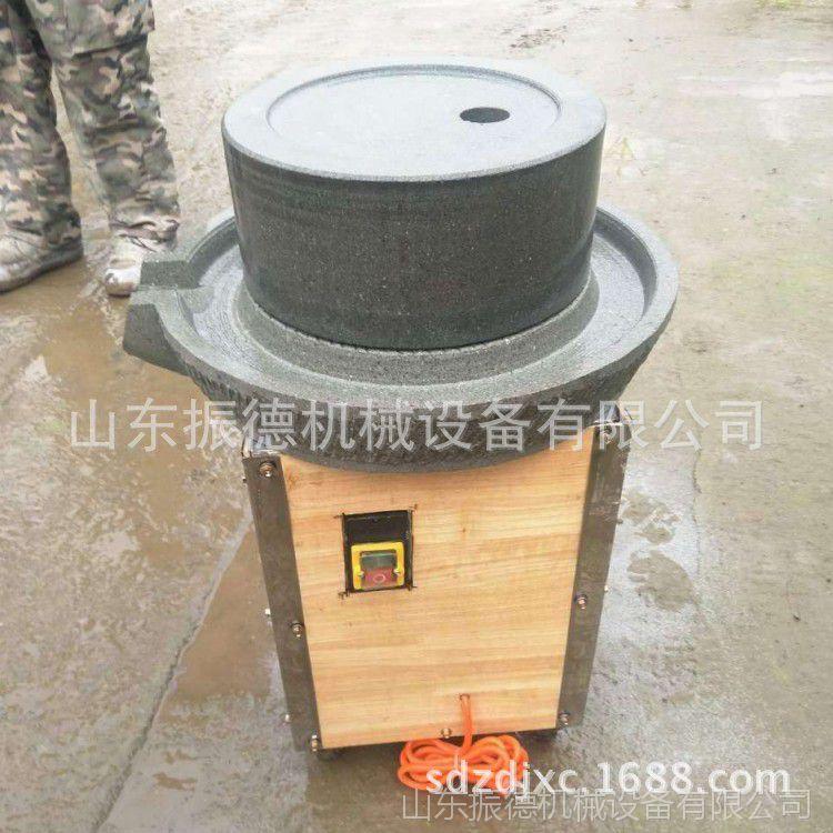 新型多功能石磨 五谷杂粮全自动石磨机 小磨芝麻酱香油石磨机价格