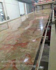 pvc仿大理石板设备生产线