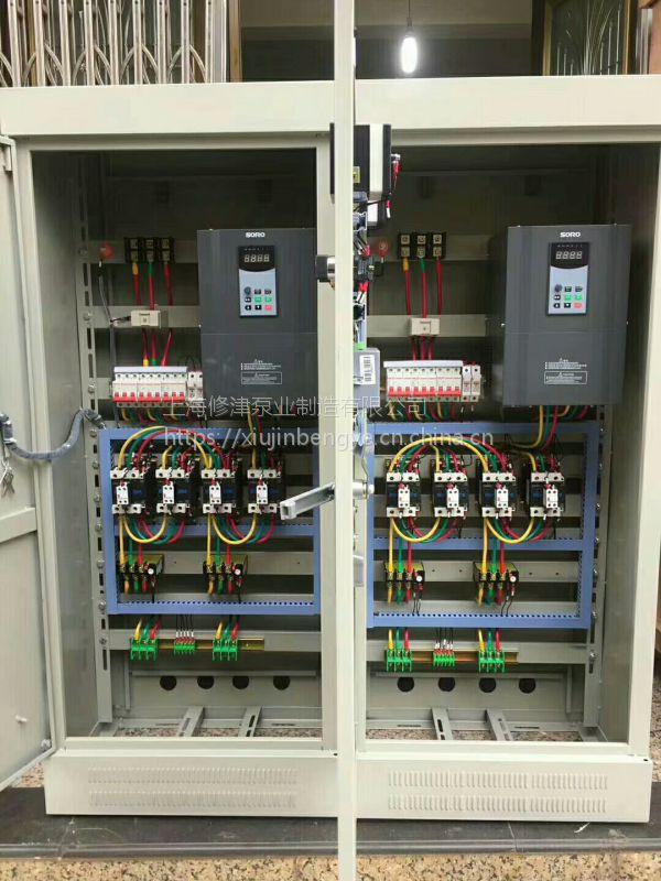 立式消防泵控制柜制作方法XBD5/55-SLW消火栓泵和喷淋泵厂家直销