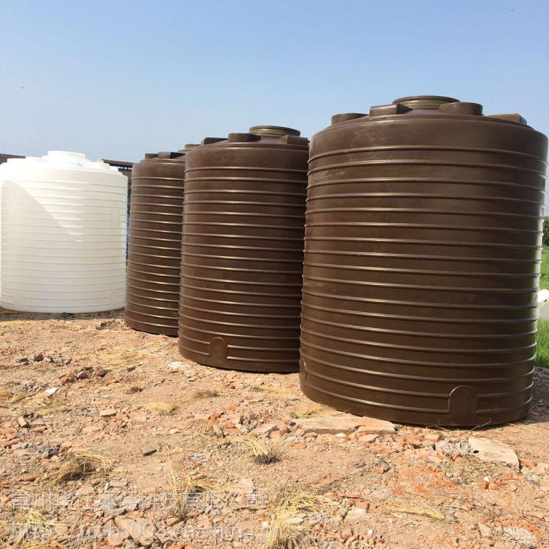 常州10吨PE塑料水箱 冷热水系统圆形水箱