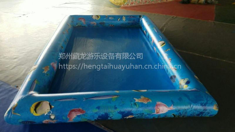 室外磁性水中钓鱼池 儿童钓鱼玩具小型摸鱼池 广场新款互动夏天捞鱼池子哪买