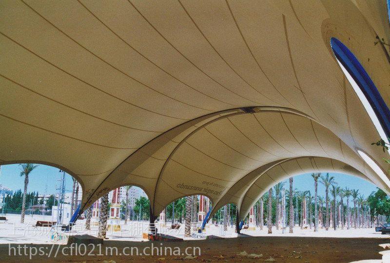 上海诚发专供全国膜结构停车棚,景观棚,遮阳棚