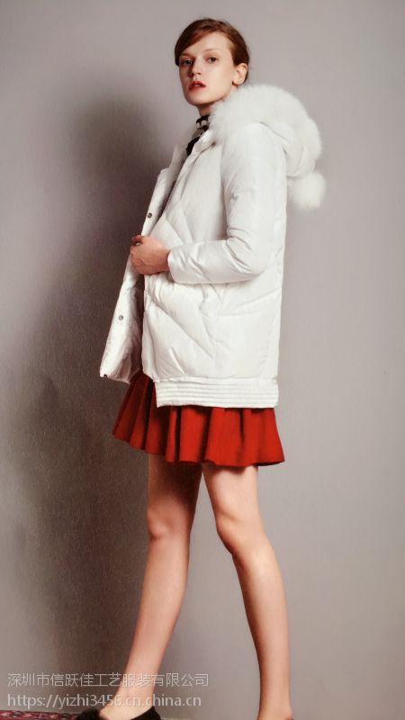 兴旺服装批发市场品牌折扣女装正品清仓剪标夏品牌折扣店招商加盟创格冬装多种面料羽绒服