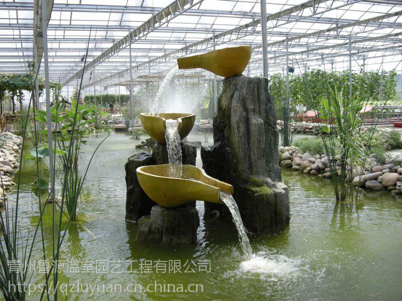 安徽宿州湿地类型旅游温室大棚4米玻璃墙体工程承建厂家
