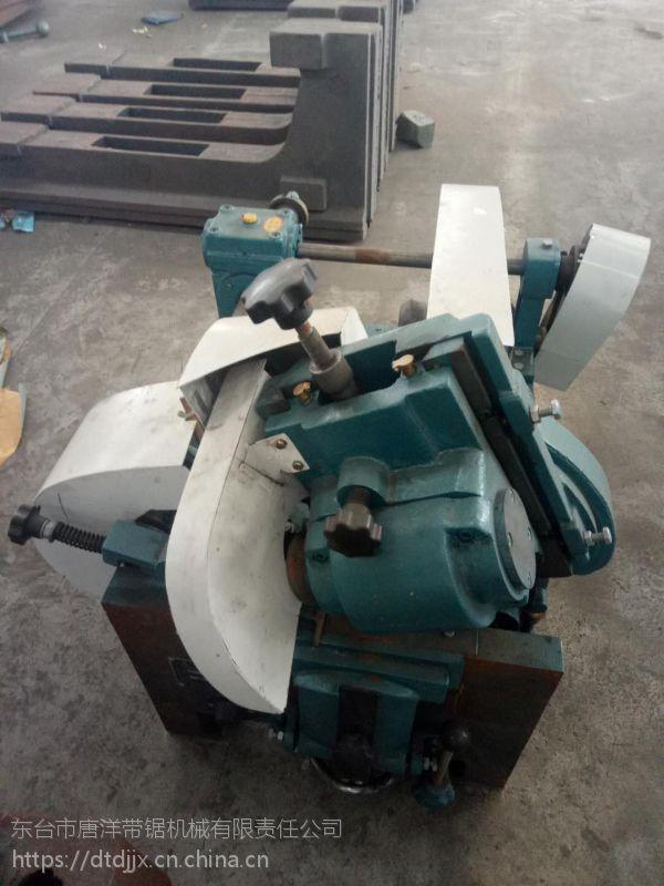 东台老牌子货MJ319普通木工带锯机 圆木锯切电动跑车锯设备 做工精致