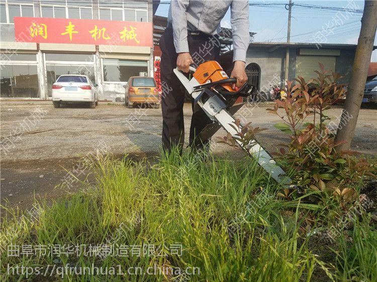 快速断根挖树机 轻便式断根起树机 果苗移植机