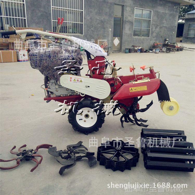 圣鲁大功率柴油开沟机 农用培葱机 热销款开沟培土机