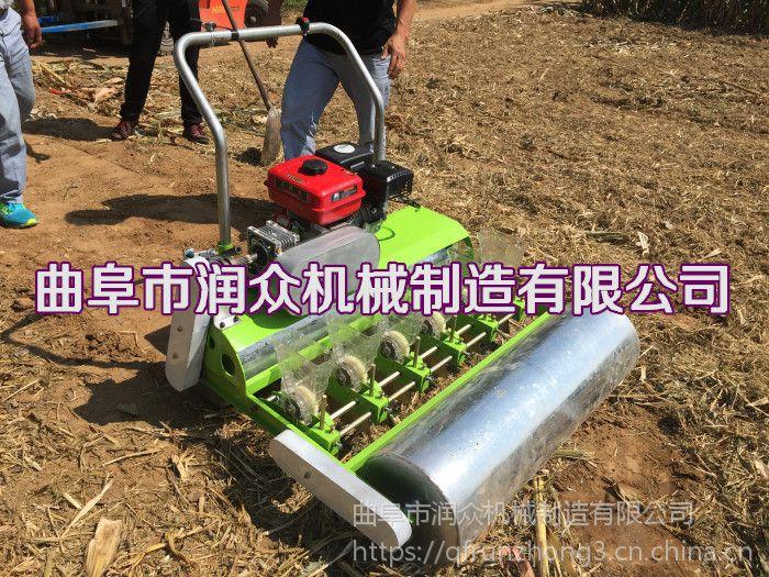 六行谷子免间苗播种机 株距行距可定做蔬菜播种机