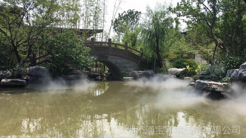 灌木丛树冷雾景观人造雾设备直供