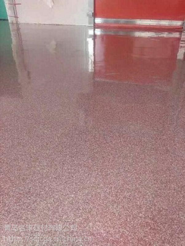 青岛地坪漆厂家承接包工包料施工 宏源-10052