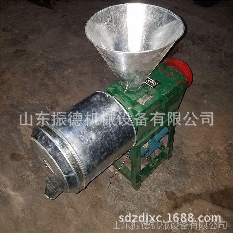 玉米磨面机 振德 五谷杂粮磨面机 电动锥型去皮磨粉机 生产厂家