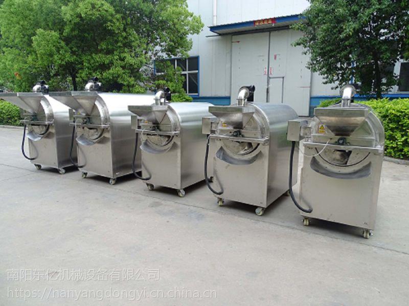 【滚筒式炒芝麻的机器|全电小型炒豆子机器|燃气干果炒熟机器 南阳东亿厂家直营