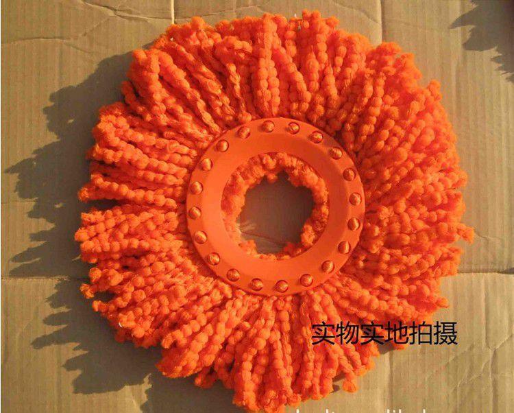 橘红色头�_供应 红纱桔色好神拖拖把头 橘红色棉头好神拖拖把头