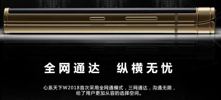 私人定制 W2018+手机 6GB/256GB 全网通4G 私人GPS定位