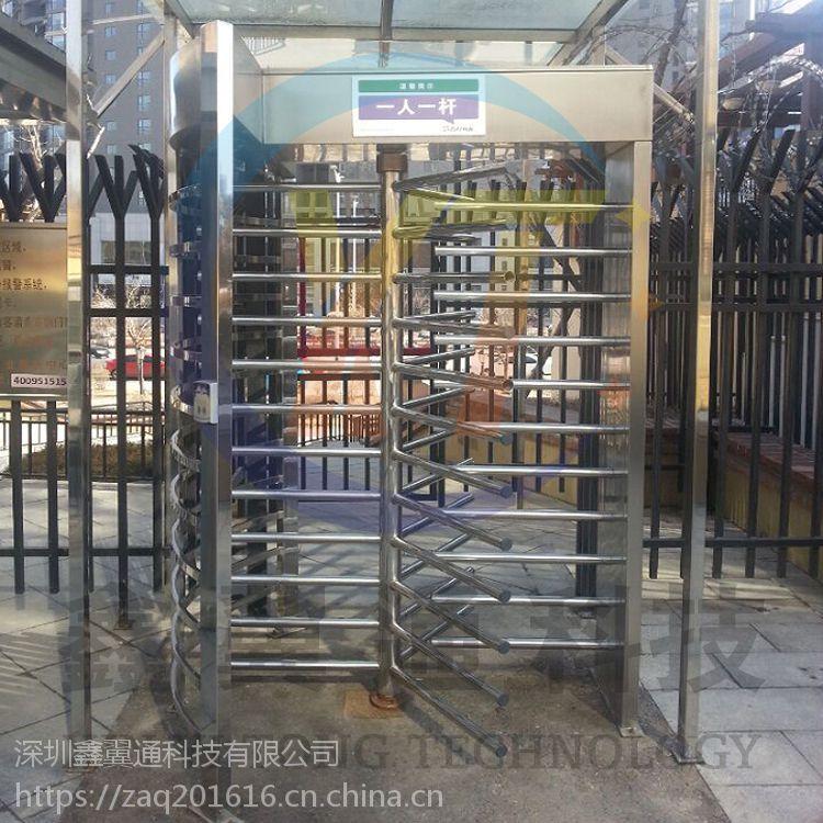 监狱银行全高旋转门闸机,政府机关安检通道全高闸