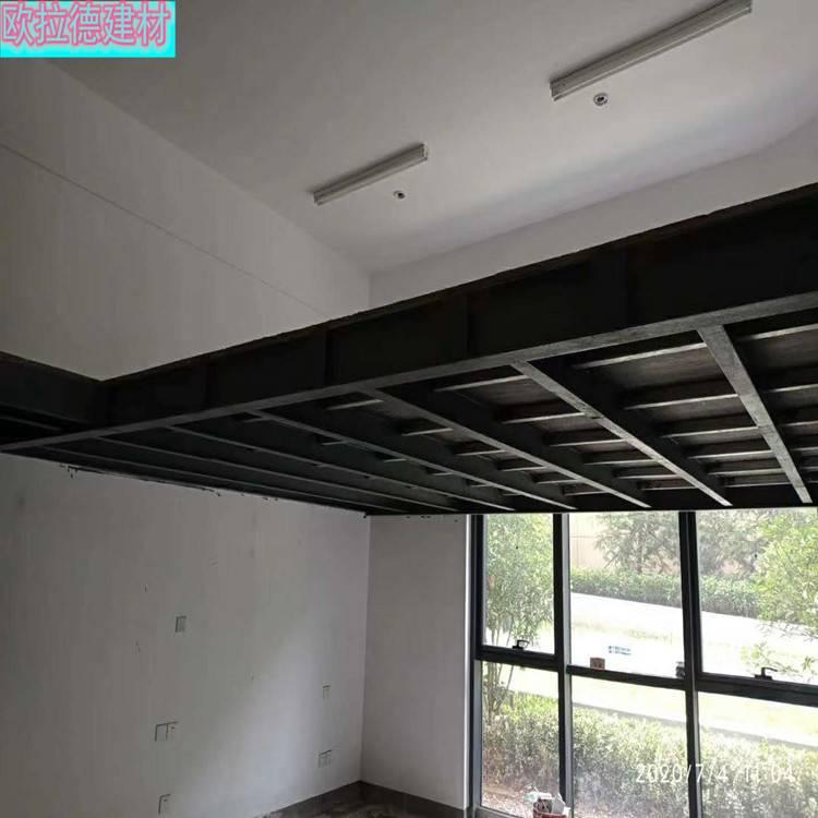 渭南loft钢结构楼层板做多层建筑使用倍棒的效果