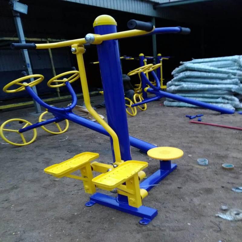 龙岩市小区体育器材生产制造厂家,户外健身梅花桩批发价,制作厂家