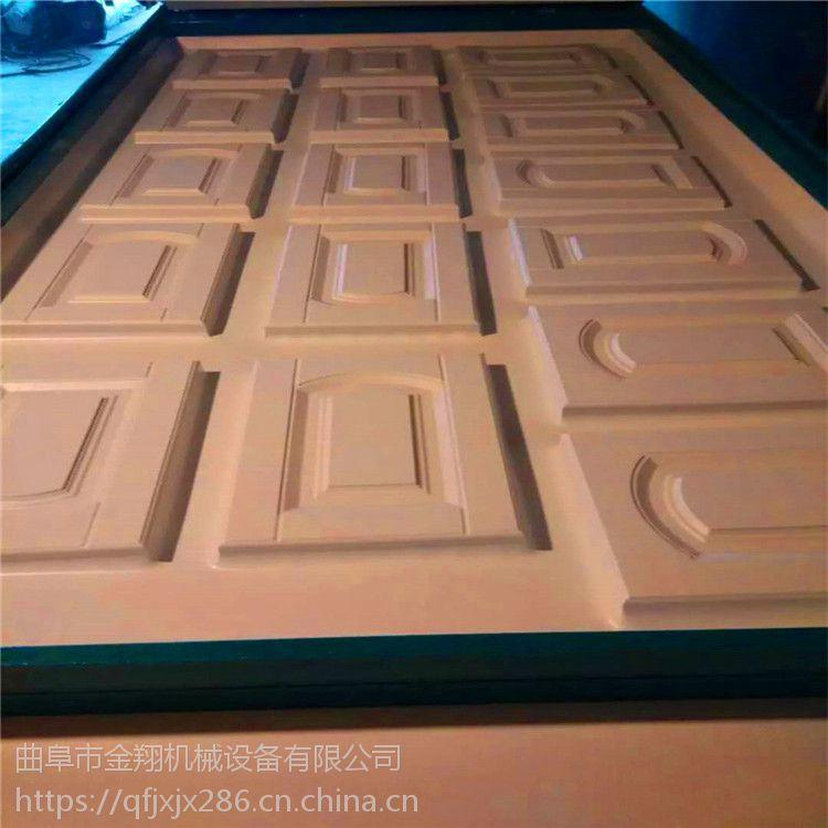 新款热卖 免漆门真空吸塑机 软包床头覆面机 吸塑机 吸塑图案丰富