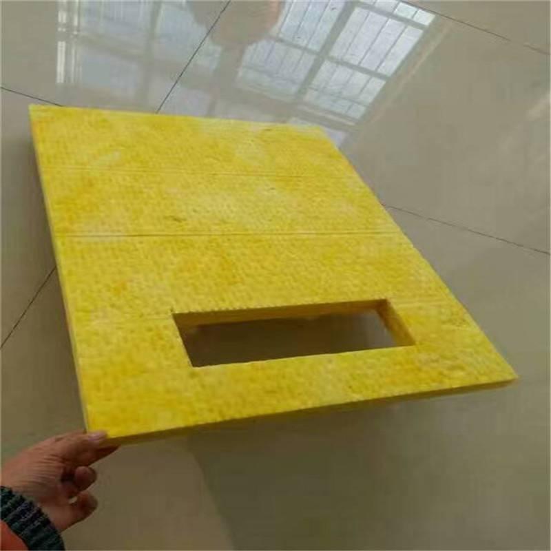 厂家报价防火玻璃棉 屋顶保温玻璃棉夹芯板
