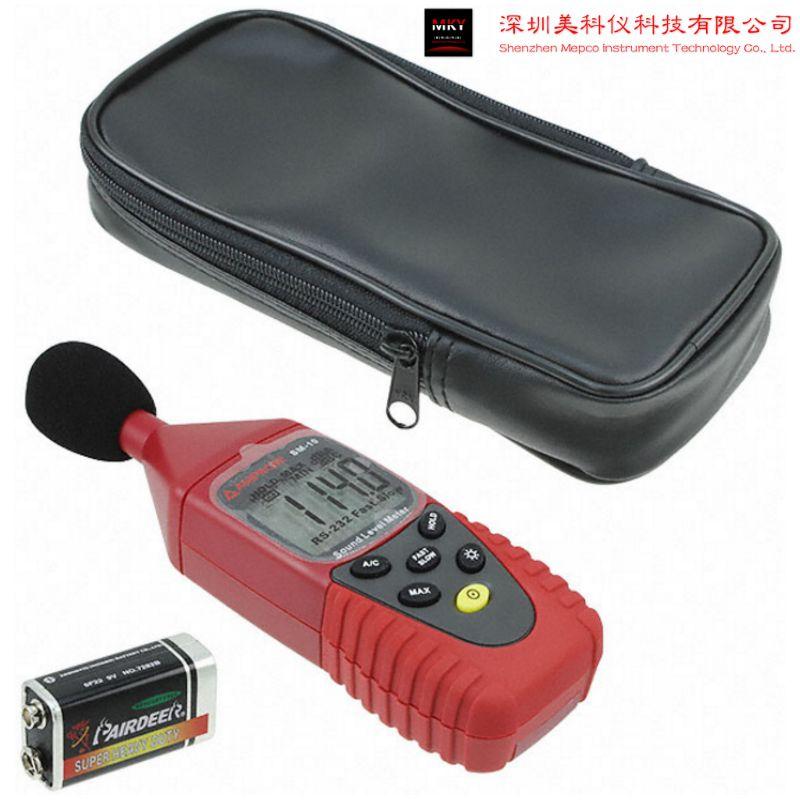 美国Amprobe/安博 SM-10手持式A/C加权噪音测量仪/声级计
