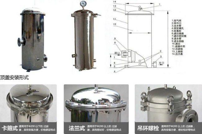 清远化工厂专用316不锈钢袋式过滤器滤除杂质效果显著质量保证