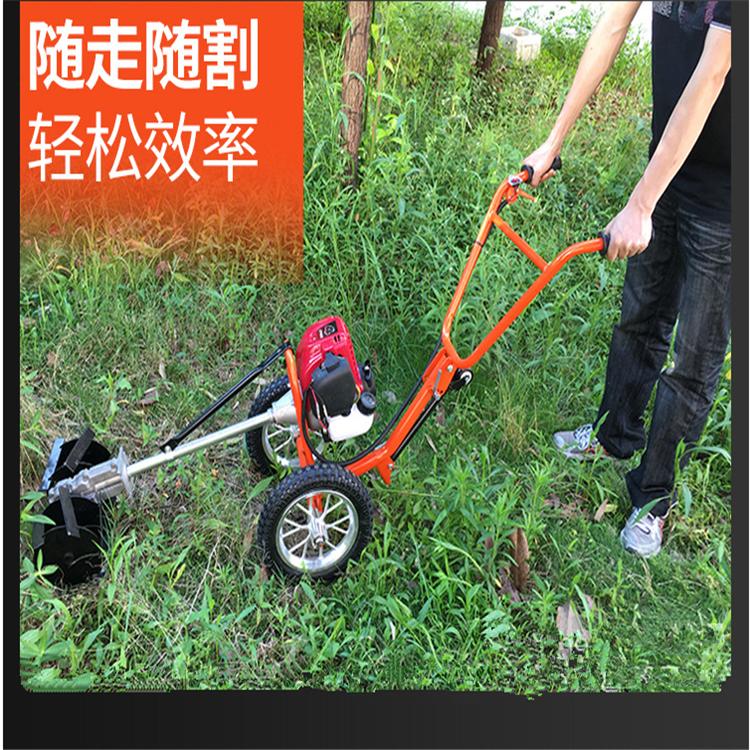果园锄地割草机 背负式松土锄草机 草地修剪机
