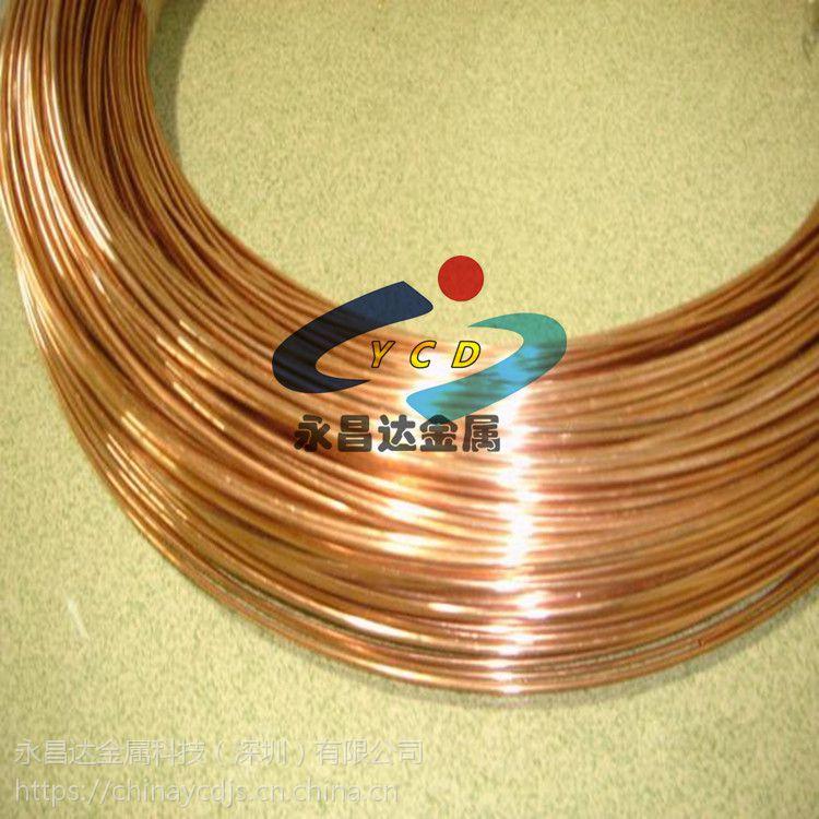 供应铍青铜线 抗疲劳C17200铍铜线 硬质0.03 0.02铍铜丝
