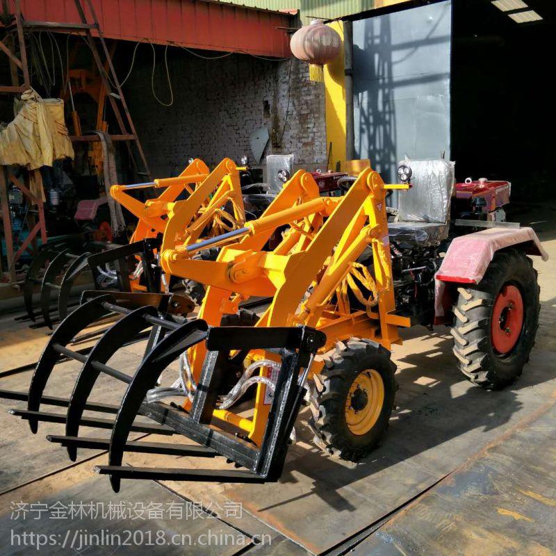 厂家直销小型装载机金林机械 抓木机