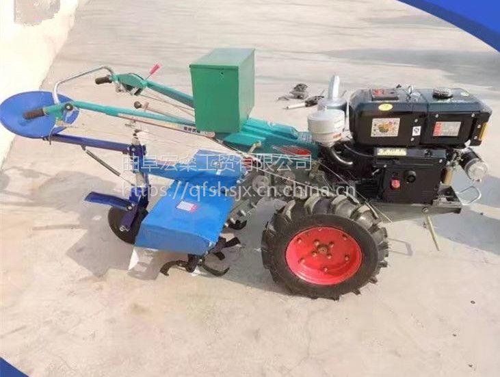 大功率柴油微耕机 开沟犁地机 多用途小型微耕机