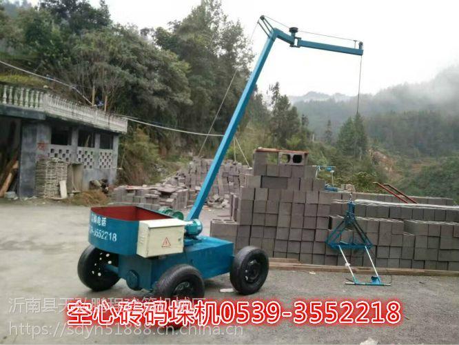 免烧砖夹砖机价格免烧砖码砖机价格