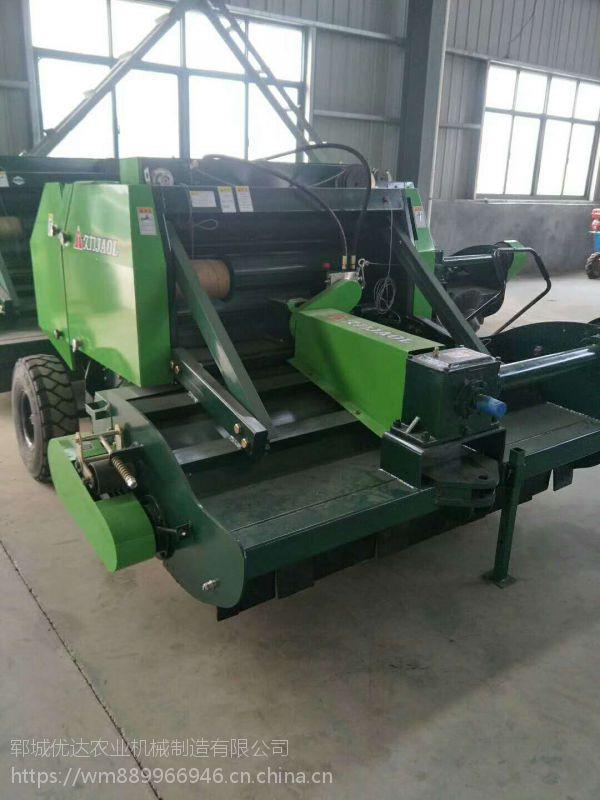 大小型四轮带秸秆粉碎回收机 农用玉米秸秆收割机 青储秸秆揉丝收割机