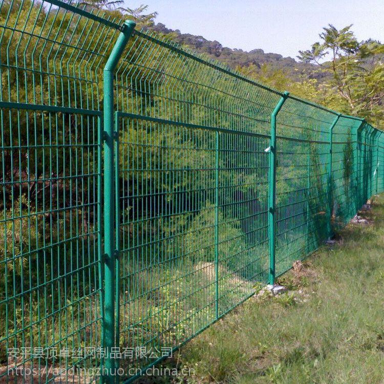 园林景区双边护栏网 市政建设围栏 公园花坛草坪护栏网厂家直销 大量现货