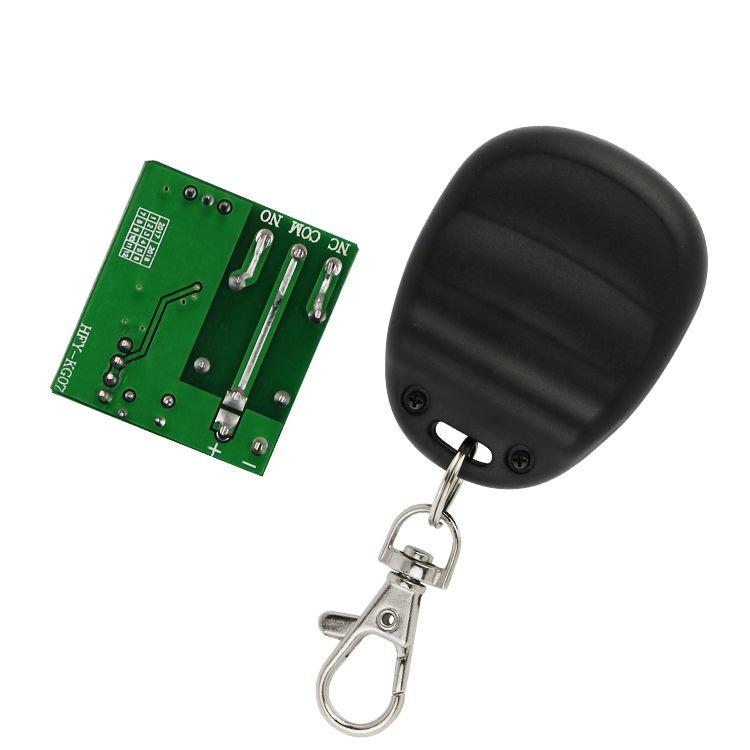 芯触发12V单路无线遥控器各类门禁门机及智能家居灯饰控制两部分为一对