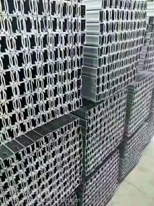 U型钢金昌屋顶分布式支架生产线