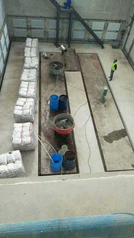 CGM高强无收缩灌浆料施工
