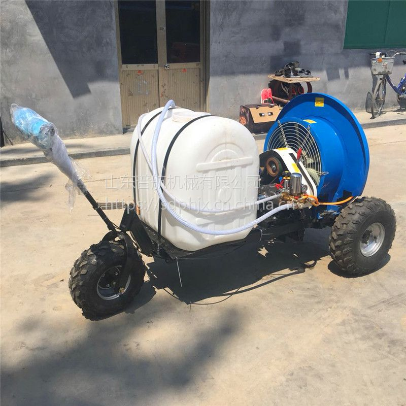 手推车式喷雾机厂家 普航牌自动葡萄打药车 200升打药机多少钱