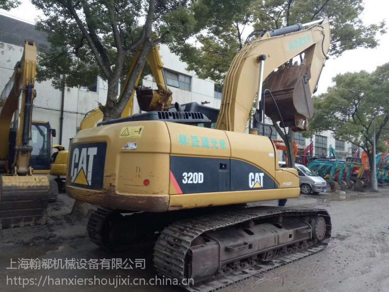 上海翰郗机械二手挖掘机