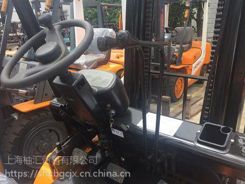 转让杭州3.5吨新款叉车 杭州柴油叉车