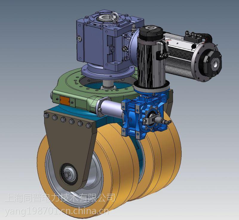 意大利飞机牵引车-agv重载舵机 全向移动平台车 MRT36电机4000W液压堆高车