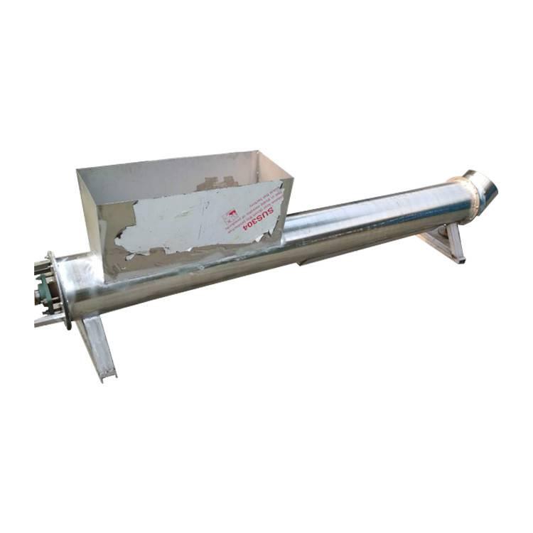 五大连池 定制 粉料 电动上料机 调味品加料机 粉末螺旋加料机 六九重工